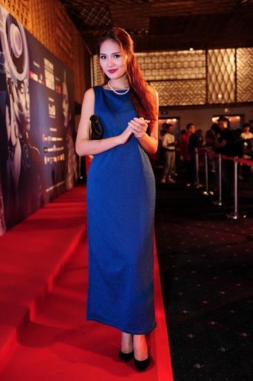 Hương Giang dự sự kiện với tư cách khách VIP