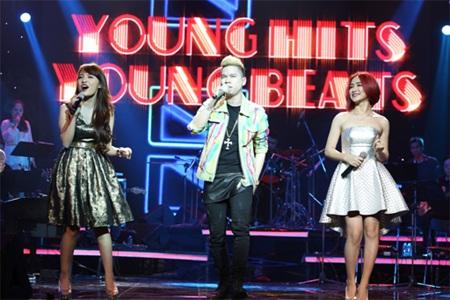 Hoàng Tôn, Nhật Thuỷ & Hoà Minzy xuất hiện với 3 ca khúc hit của mình.