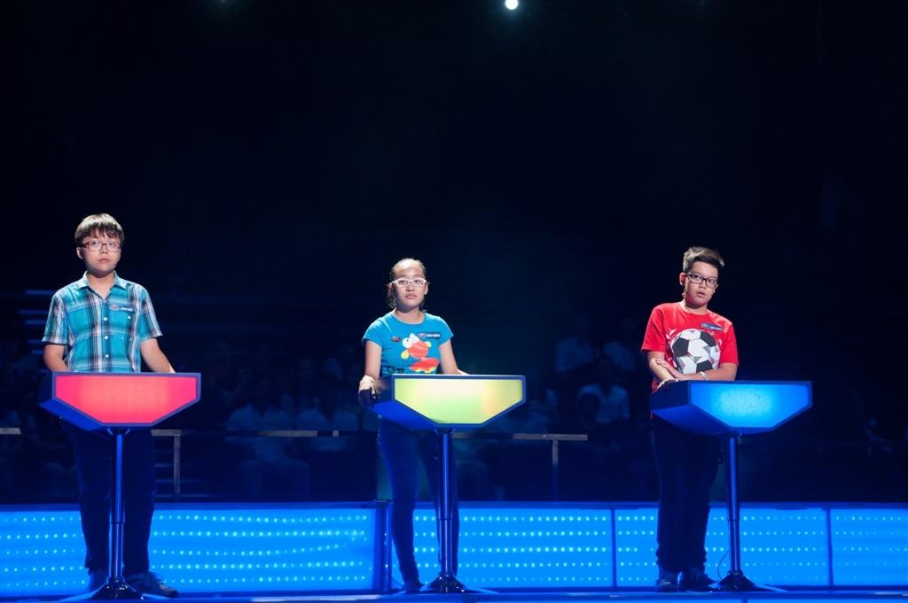 3 bạn nhỏ bản lĩnh bước vào chặng đua cuối cùng của show 24