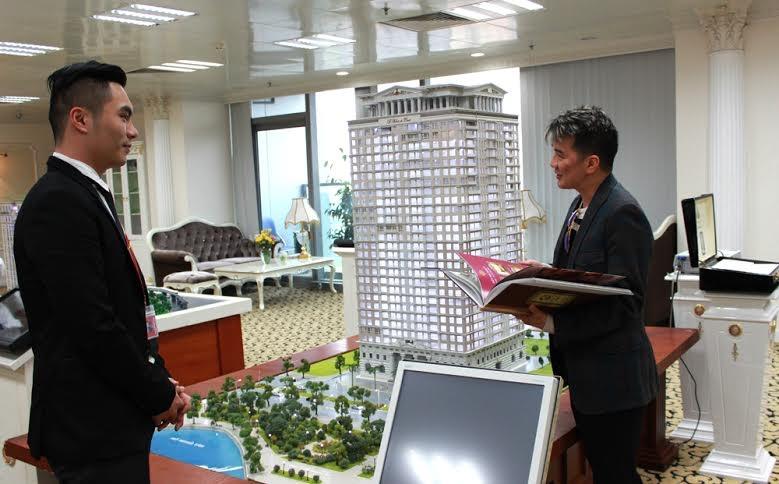 Ca sỹ Đàm Vĩnh Hưng đang tìm hiểu thông tin về Dự án D' Palais de Louis
