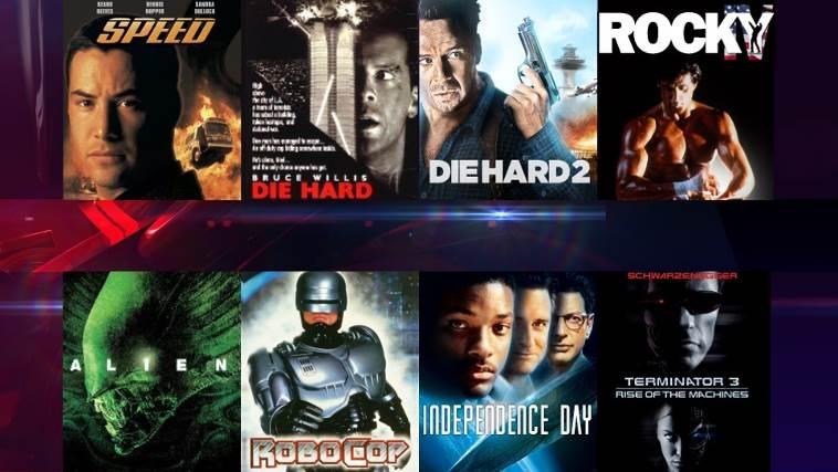 Hàng loạt phim bom tấn hấp dẫn vào 23h thứ 7, chủ nhật hàng tuần trên SCTV16
