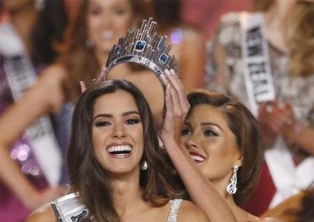 Người đẹp Colombia trở thành Hoa hậu hoàn vũ 2014