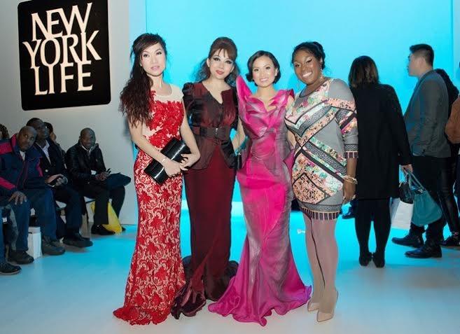Hà Phương - em gái tỷ phú của Cẩm Ly dự show Quỳnh Paris ở New York