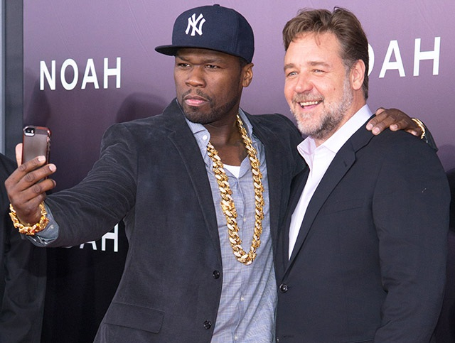 50 Cent và Russell Crowe