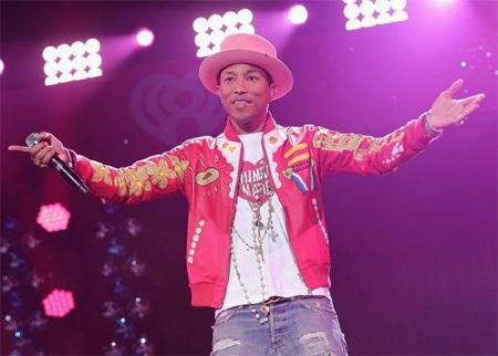 """Pharrell Williams sẽ dự tiệc cùng """"chàng béo nhảy nhót""""."""