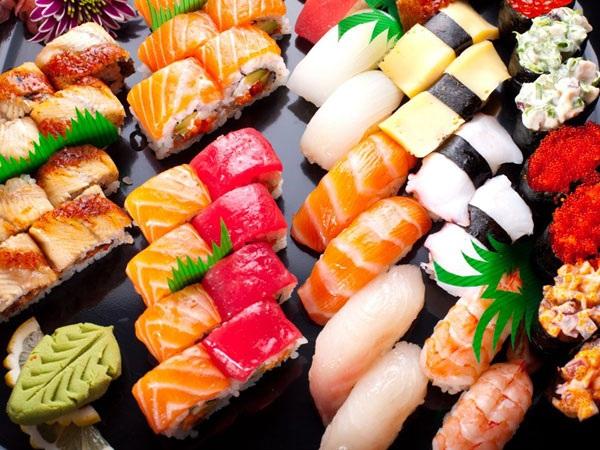 Sushi Nhật nổi tiếng toàn cầu