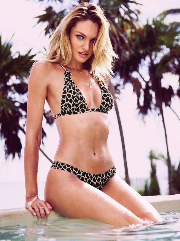 Candice Swanepoel Victoria's Secret Bikini
