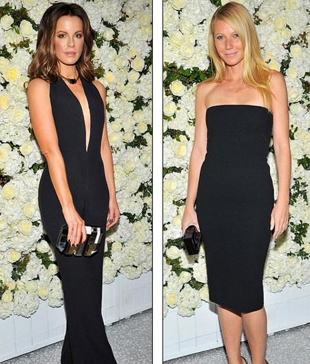 Hai khách VIP trong bữa tiệc là : Kate Beckinsale và Gwyneth Paltrow