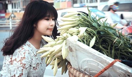 Hà Nội tháng 4 - Mùa hoa loa kèn (ảnh: Tiền Phong)