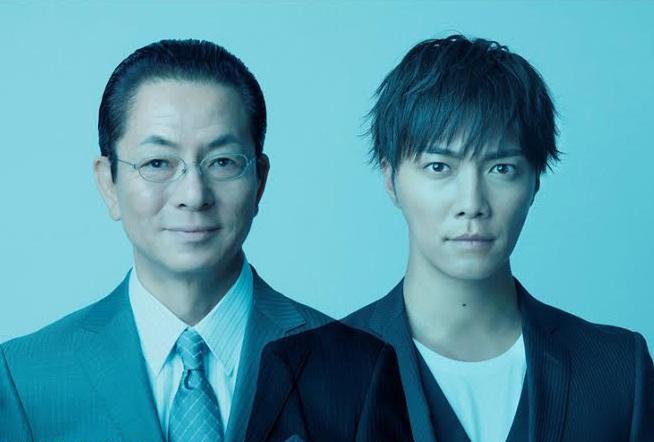 Hai vị thám tử chủ chốt của đội đặc nhiệm Sugishita và Kai Toru