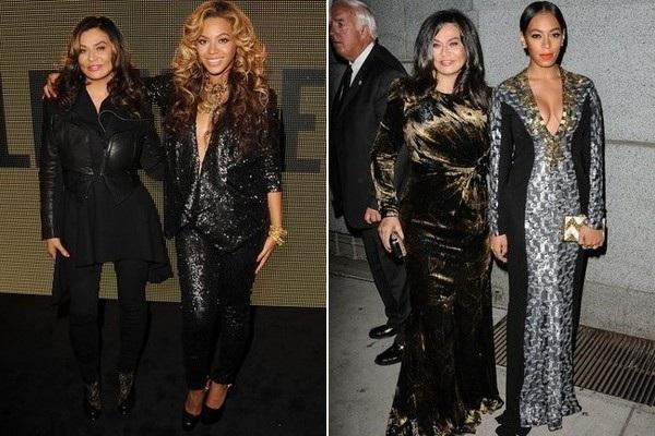 Beyoncé, Solange and Tina Knowles