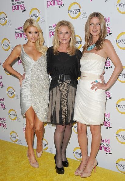 Paris, Nicky and Kathy Hilton