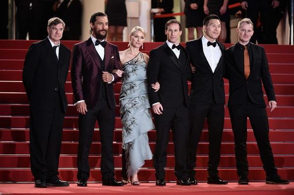 Gus Van Sant,Matthew McConaughey,Naomi Watts,Chris Sparling,guest and Ken Watanabe