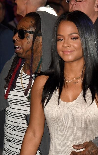 Lil Wayne, Christina Milian.