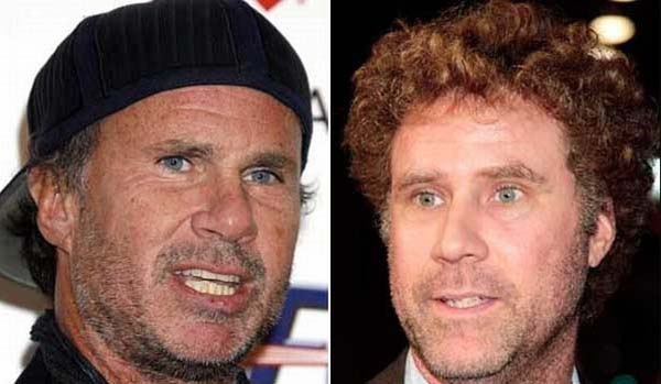 Chad Smith (Red Hot Chili Peppers) & Will Ferrell