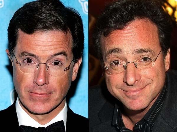 Stephen Colbert & Bob Saget