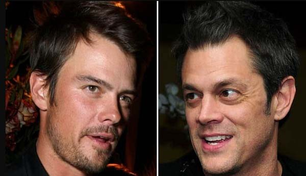 Josh Duhamel & Johnny Knoxville