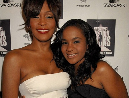 WhitneyHouston và con gái duy nhấtBobbi Kristina