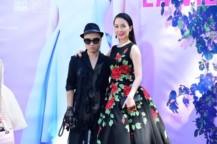 Linh Nga sang Mỹ dự show thời trang của NTK Đỗ Mạnh Cường
