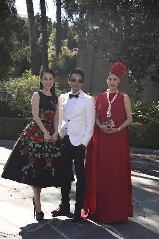 Linh Nga, Trương Nam Cường và Hà Kiều Anh