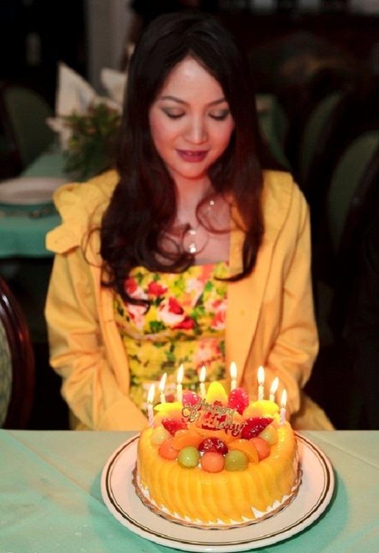 Hoa hậu vừa đón sinh nhật lần thứ 40 cách đây ít ngày