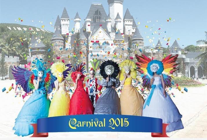 Tràn ngập màu sắc Châu Âu trong lễ hội