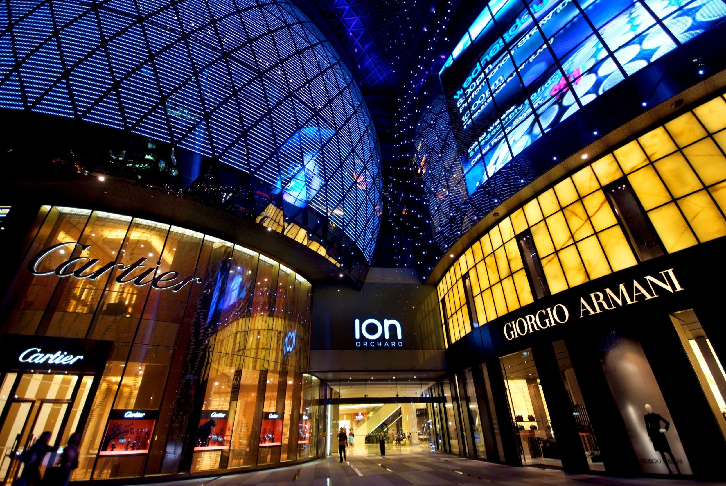 ION Orchard – Khu mua sắm sang trọng và sầm uất nhất con đường Orchard