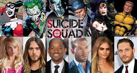 """Dàn cast """"khủng"""" của Suicide Squad"""