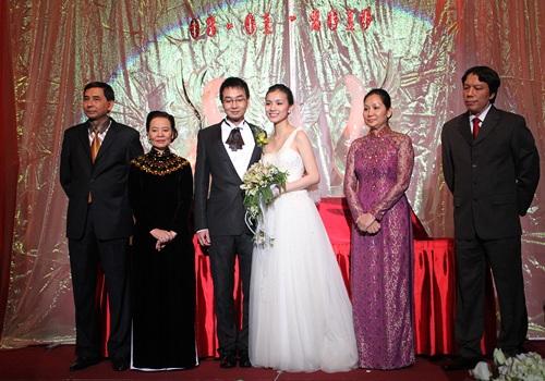 Những nàng dâu may mắn của showbiz Việt