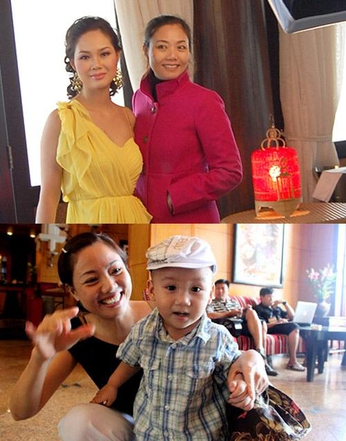 Đọ nhan sắc của các mẹ Hoa Hậu Việt
