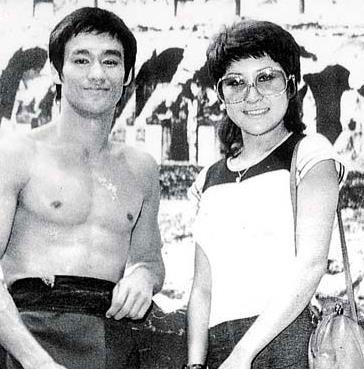Đinh Bội và Lý Tiểu Long thời trẻ