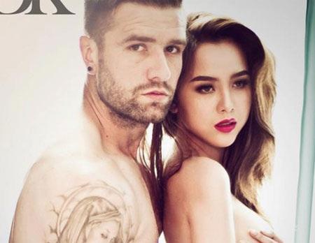 """DJ Myno và Van Bakel là cặp tình nhân được cho là """"xứng đôi vừa lứa"""" nhất trong làng bóng đá Việt"""
