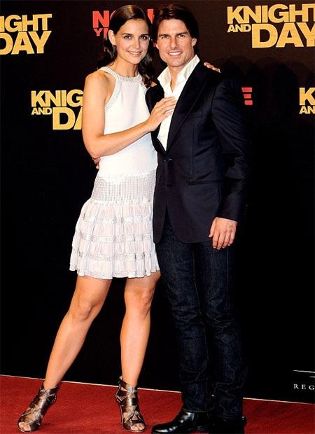 Tom Cruise và vợ cũ Katie Holmes.