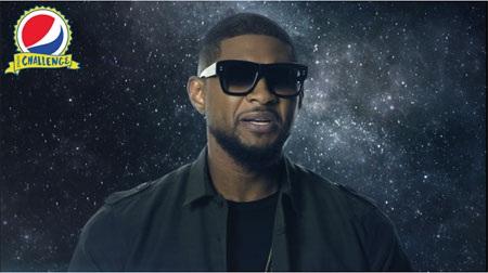 Nam ca sỹ 8 lần đạt giải Grammy – Usher – sẽ phối hợp cùng nhãn hàng Pepsi thực hiện
