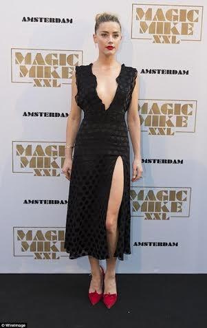 Ngay sau đó, người đẹp đã tới Amsterdam quảng bá phim