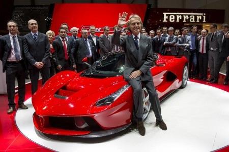 Ferrari chia tay người hùng Luca Montezemolo