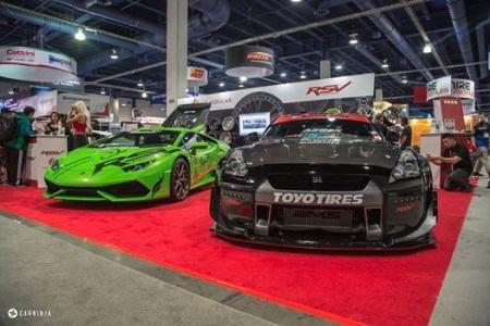 Lamborghini Huracan sóng đôi Nissan GT-R (Ảnh: CarNinja)