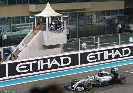 Lewis Hamilton vô địch F1 mùa giải 2014