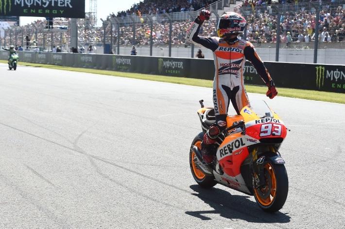 Chiến thắng thứ 5 của Marquez