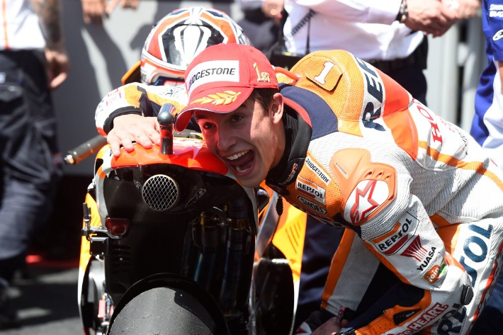 Marquez tiếp tục làm mưa làm gió tại Italian MotoGP