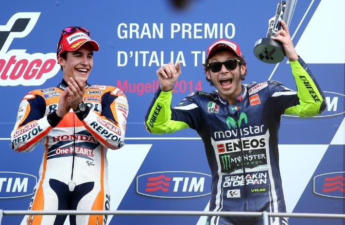 Valentino Rossi ăn mừng chiến thắng đầu tiên tại Mugello từ năm 2009