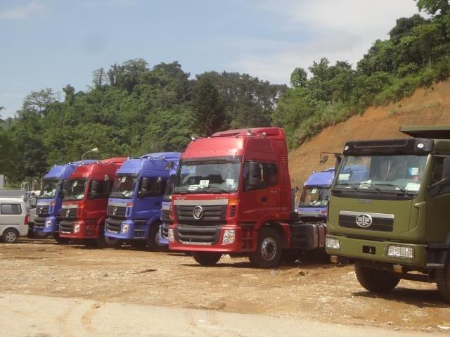 Ô tô tải nguyên chiếc nhập khẩu từ Trung Quốc