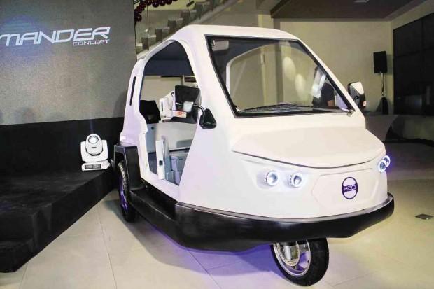Đây là mẫu xe ba bánh lưỡng cư đầu tiên của công ty công nghệ H2O Technologies Inc.