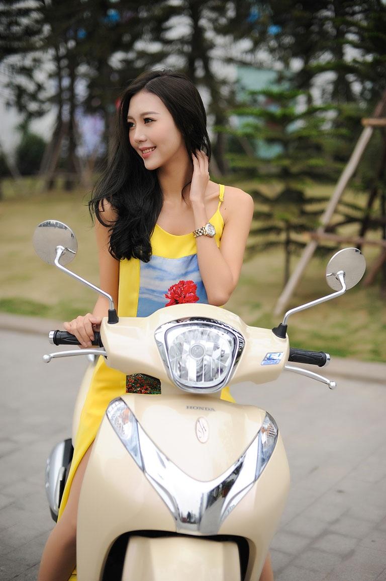 Mẫu xe SH mode đã có mặt trên thị trường Việt Nam được gần hai năm