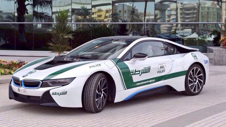 Xe BMW i8 có công suất 357 mã lực