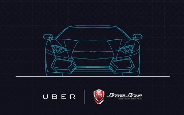 Siêu xe tham gia dịch vụ Uber tại Singapore
