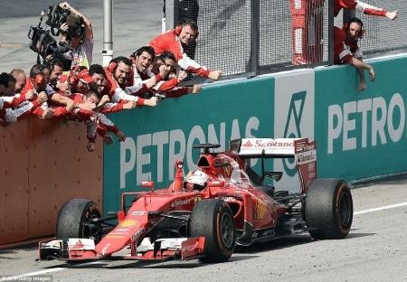 Vettel trên con đường tìm lại chính mình