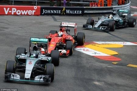 Kết quả chặng 6 Formula 1 Grand Prix de Monaco 2015: