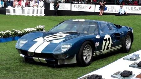 Ford GT40 prototype 1964 có giá bán đắt thứ tư, với mức 7 triệu USD vào năm 2014.