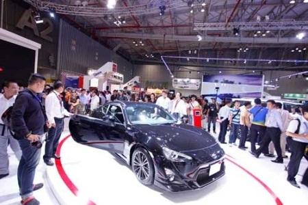 Sức tiêu thụ ô tô của thị trường Việt Nam đang cho thấy sự tăng trưởng ấn tượng